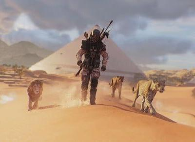 The Animus Control Panel opens a dev toolbox for 'Assassin's Creed: Origins'