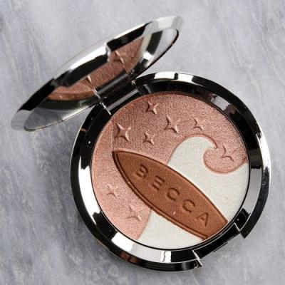 Becca Ocean Glow Shimmering Skin Perfector Pressed Review & Swatches