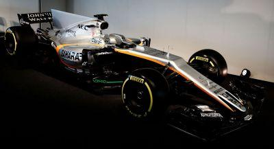 Force India Gears Up For 2017 F1 Season With New Mercedes-Powered VJM10