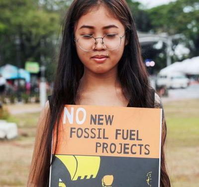 7 Powerful Photos From The Global Youth Climate Strike