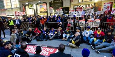 Uber Joins In On Nationwide Protest For Fair Minimum Wage