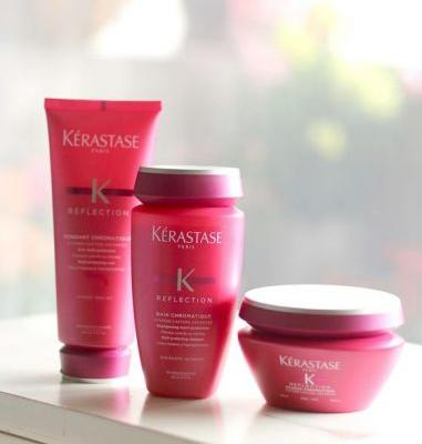 Kérastase Reflection Shampoo, Conditioner and Hair Mask for Color-Treated Hair