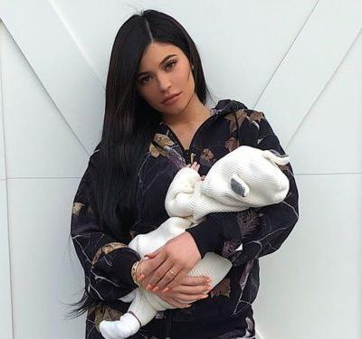 Kylie Jenner's Baby Already Has the Custom Designer Sneakers of Your Dreams