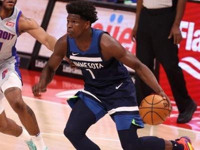 Timberwolves' Anthony Edwards using LaMelo Ball's Rookie of the Year award as motivation