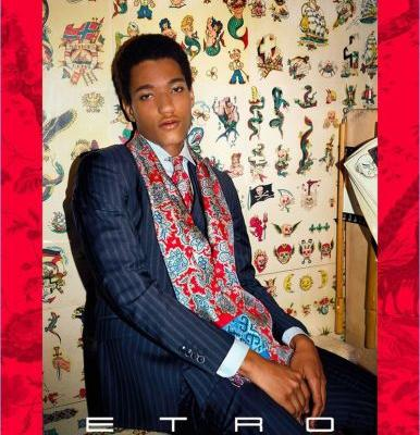 Etro's Man Packs a Stylish Punch for Spring '18 Campaign