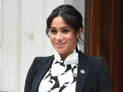 Pregnant Meghan Markle Participates in an International Women's Day Panel, Like the Feminist She Is
