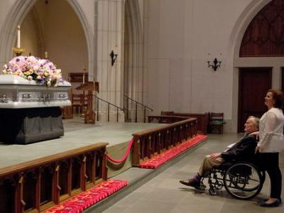 Barbara Bush Is Laid To Rest In Texas