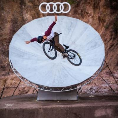 Audi Nines MTB 2018: Brand sponsorship of mountain biking competition