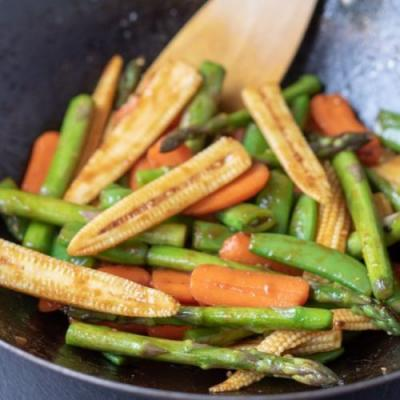 Healthy Spring Stir-Fry Vegetables