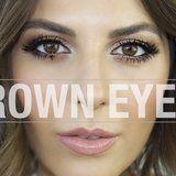 This Sultry Brown-Eye Makeup Tutorial Is All You Need to Turn Heads