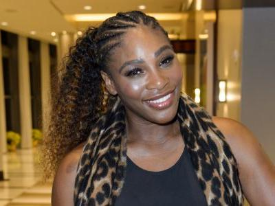 Work, Momma! Serena Williams Holds Her Daughter During A Workout To Prove 'Anything Is Possible'