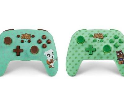 'Animal Crossing' Wireless Controllers Release for the Nintendo Switch