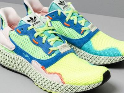"The 4D-printed adidas ZX 4000 4D ""Easy Mint"" drops in India this week"