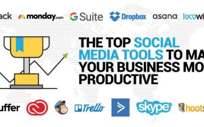 The Top Social Media Tools To Make Your Business More Productive