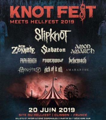 Knotfest Meets Hellfest to feature Slipknot, Rob Zombie, Amon Amarth, Behemoth and More