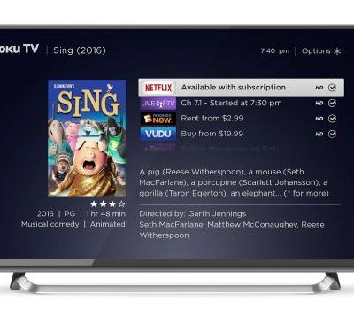 Roku users are streaming nearly 3 hours a day on average, and the most-searched term is for 'free' content