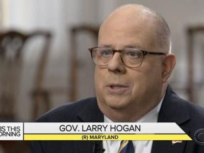 GOP Governor Larry Hogan Officially Decides Against Challenging Trump in 2020 Primary