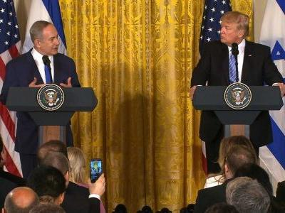 President Trump plan calls for Palestinian state, settlement freeze