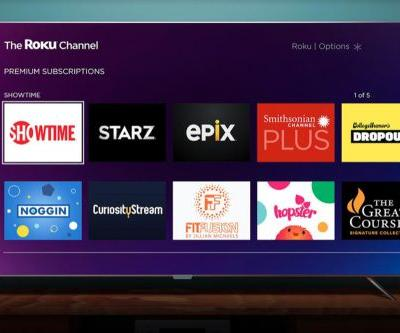 Roku launches premium subscriptions for Showtime, Starz, and other services today