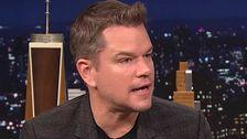 Matt Damon Let His Daughters Give Him A Mohawk And It's Full 'Travis Bickle'