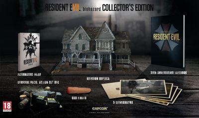 Resident Evil 7 GAME UK Collector's Edition cancelled due to busted mansions