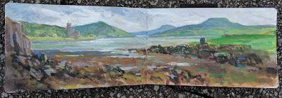 Scotland Plein Air Painting Retreat - Interim Report 4