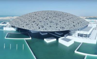 See the Incredibly Complex Louvre Abu Dhabi Constructed Over 8 Years in This Timelapse