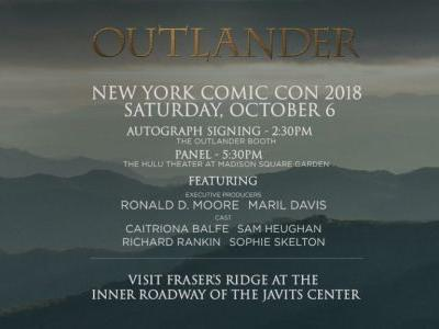 All the Details on 'Outlander' at New York Comic Con