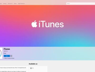 ITunes is, at last, in the Microsoft Store
