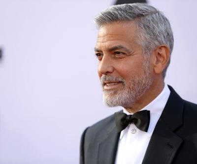 Video shows moment of George Clooney crash