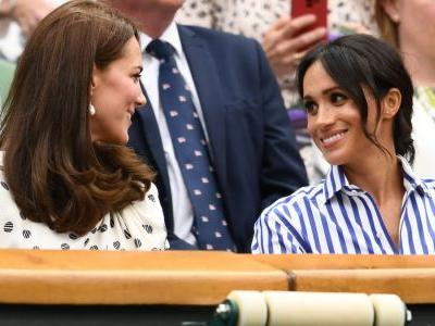 Meghan Markle Wore a Thing: Ralph Lauren Shirt and Trousers