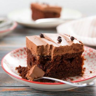 Chocolatey Chocolate Sheet Cake