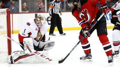 Mike Condon makes 21 saves as Senators shut out Devils