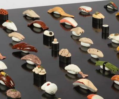 Japanese Artist Prepares Exhibition of Strikingly Accurate Stone Sushi