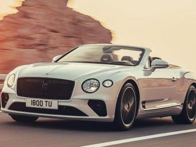 The Bentley Continental GT Convertible Is Here With 626bhp And Tweed