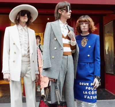 Did You Catch The Hidden Mickey At Gucci's Spring Show?