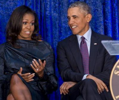 Barack and Michelle Obama Are Gallup Poll's Most Admired Man and Woman in 2018