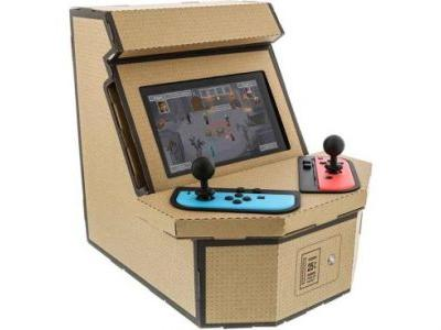 Nyko To Release Labo-Like Cardboard Arcade Cabinet For Switch