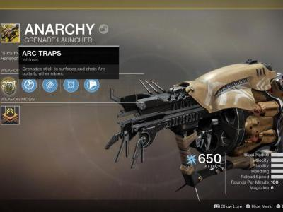 Destiny 2's Black Armory Exotics: Check Out The First Four
