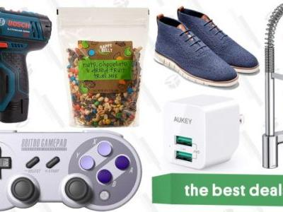 Thursday's Best Deals: Happy Belly Snacks, Cole Haan Shoes, Moen Faucets, and More