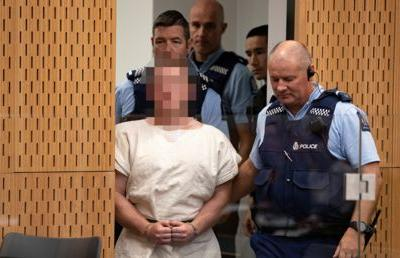 New Zealand mosque shooter charged with terrorism