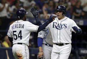 Kiermaier, Garcia lead Rays to 8-1 win over Dodgers