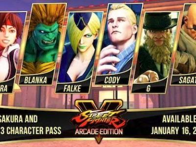 All Six Street Fighter V Season 3 DLC Characters Confirmed