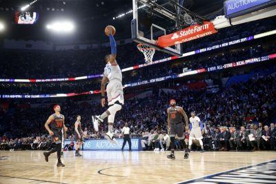 NBA All-Star Game: Hometown Pelicans' Anthony Davis scores record 52 points to lead West to 192-182 win; Cavaliers' LeBron James sets all-time record for field goals