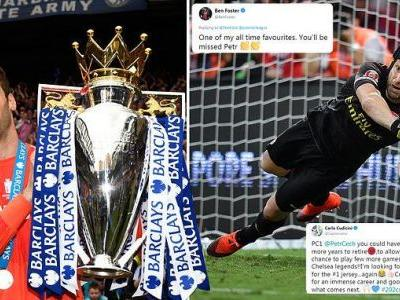 'A champion on and off the pitch': Tributes paid to Petr Cech