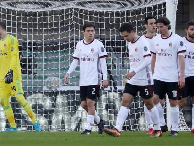 AC Milan crisis deepens with 3-0 defeat at Verona in Serie A