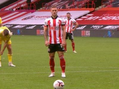 Billy Sharp blasts Blades level from the spot