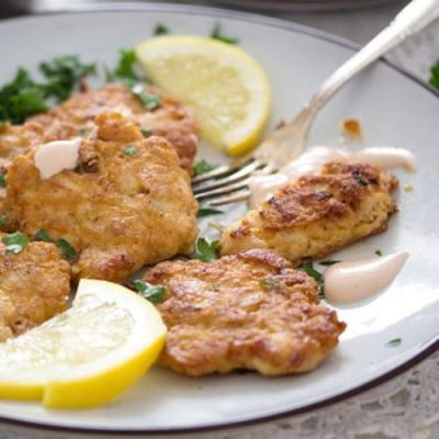 Tender Chicken Breast Fritters