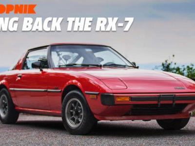 The Original Mazda RX-7 Proves We Need More Cheap Analog Sports Cars