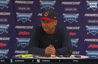 Terry Francona: Clevinger is doing 'everything you would ever ask of' a young pitcher